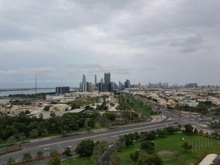 ОАЭ, Абу-Даби, февраль 2018