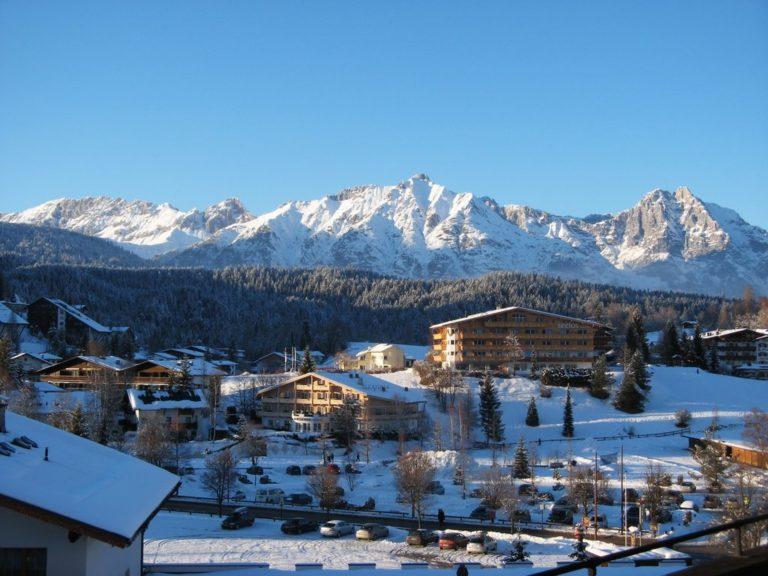 Австрия, Тироль, январь 2014г